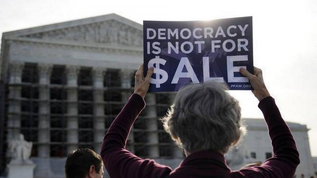 Supreme Court Citizens United Protest
