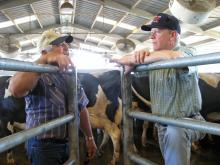 Rep. McNerney visits a dairy farm in San Joaquin County