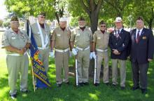 Stockton Vietnam Veterans Flag Ceremony